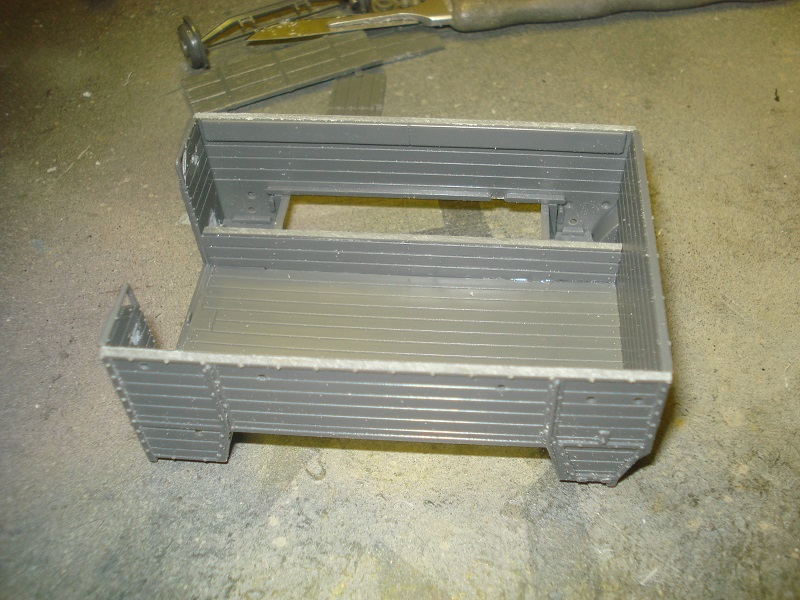 The rear compartment