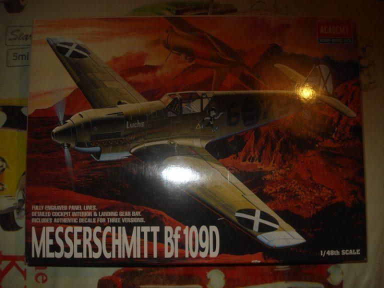 Några modeller till salu! Bf109d_48th_for_sale-768x576