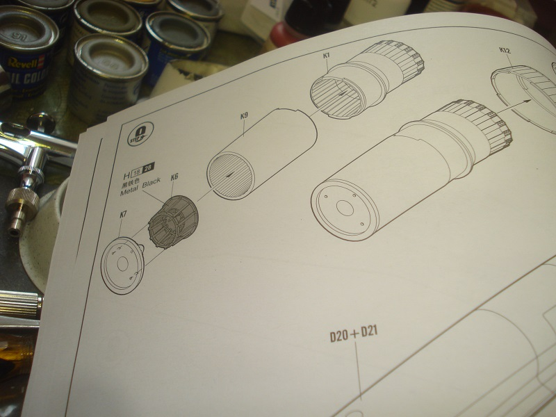 Exhaust assembly instructions