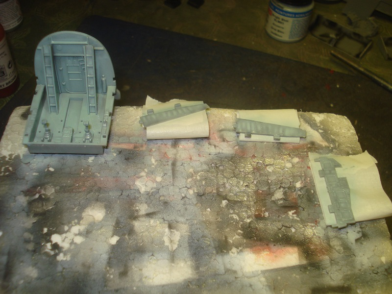 Cockpit base colour.