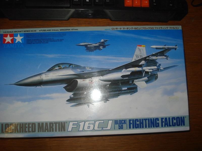 F-16C box art.