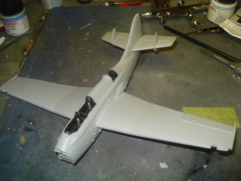 Starting to look like a plane.