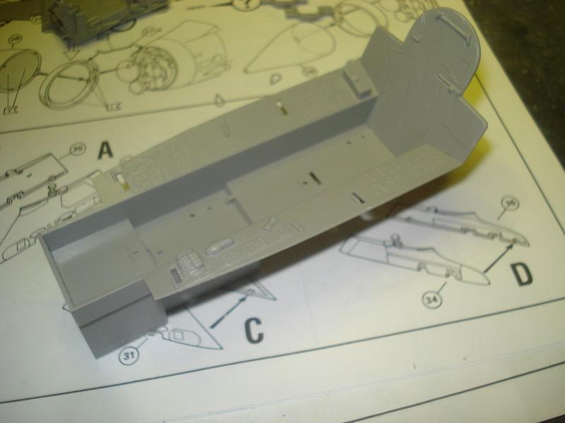 Cockpit tub.