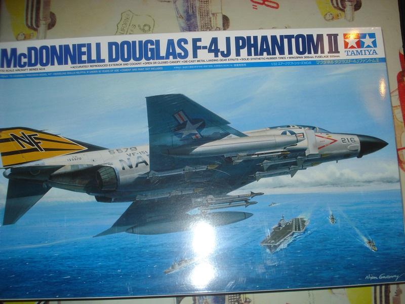 F-4J Phantom boxart