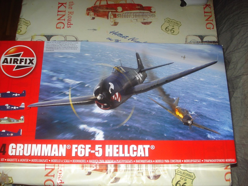 F6F-5 Hellcat 1/24th kit