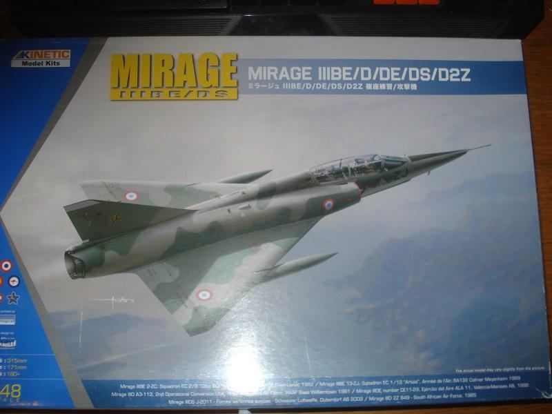 Mirage IIIBE 1/48 boxart.