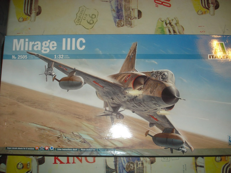 Mirage IIIC boxart.
