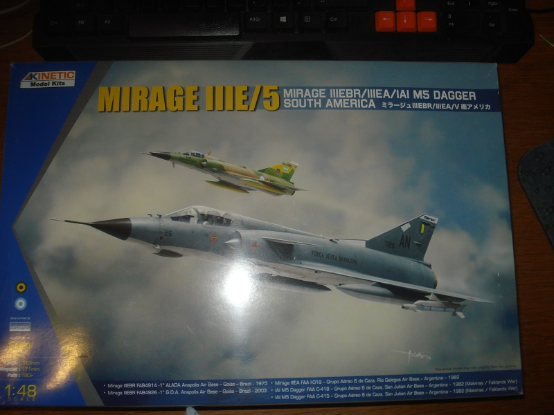 Mirage IIIE/5 South America 1/48 boxart