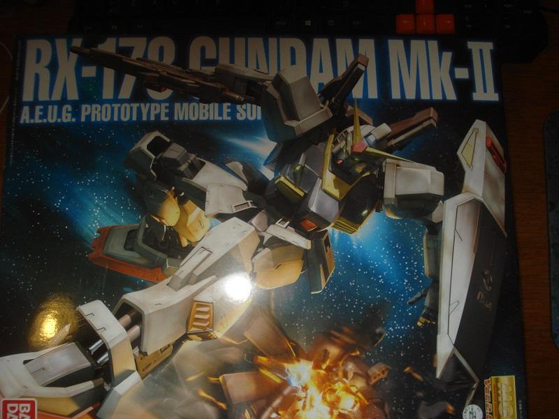RX-178 Gundam Mk-II box