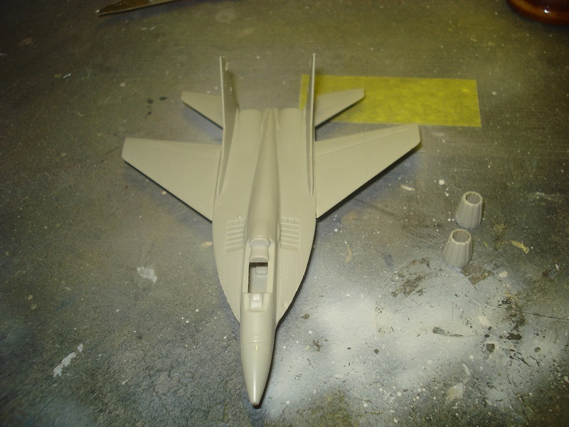 Fuselage and wings assembled