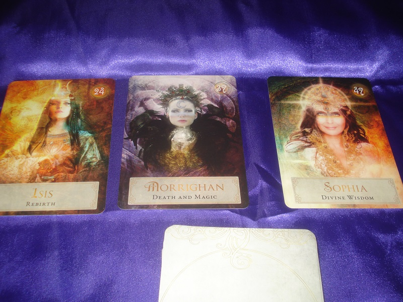 Week 33 oracle cards.