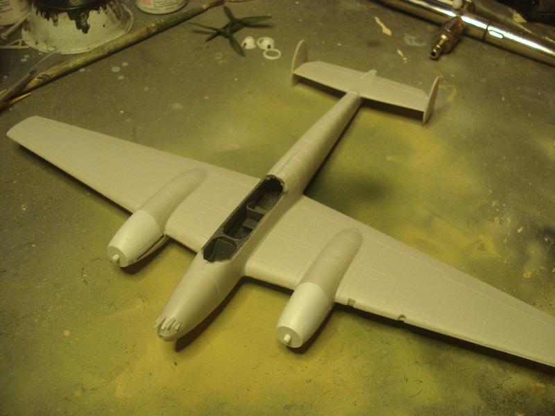 Nose and tail assembled