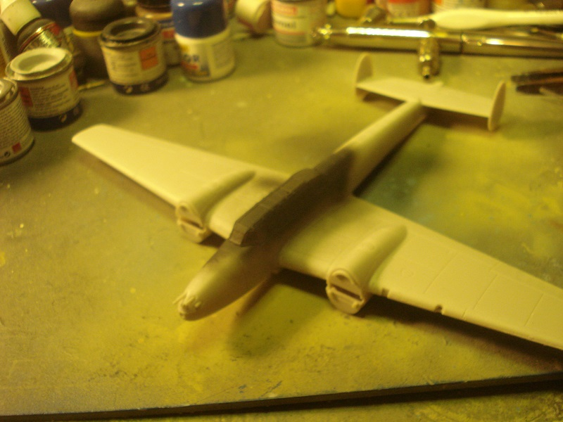 Canopy frames painted