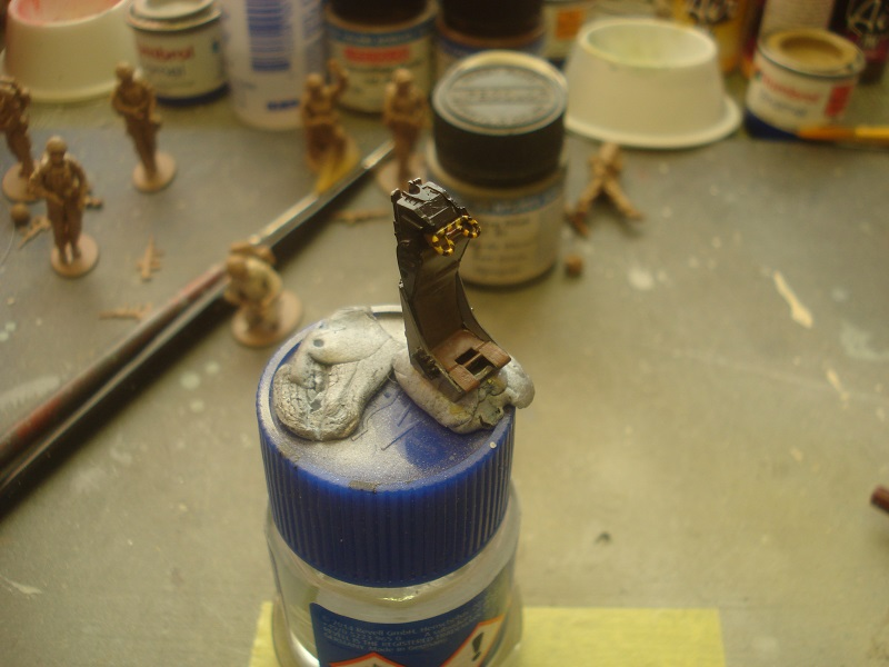 Ejection seat painted