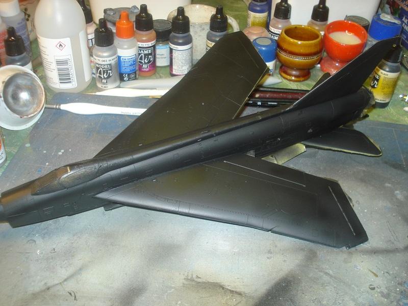 Topside painted black