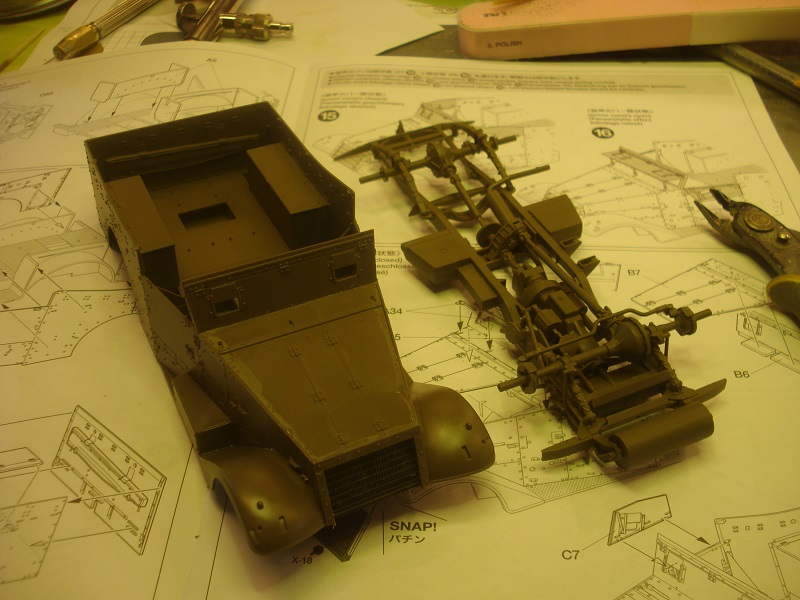 Frame and upper hull almost done