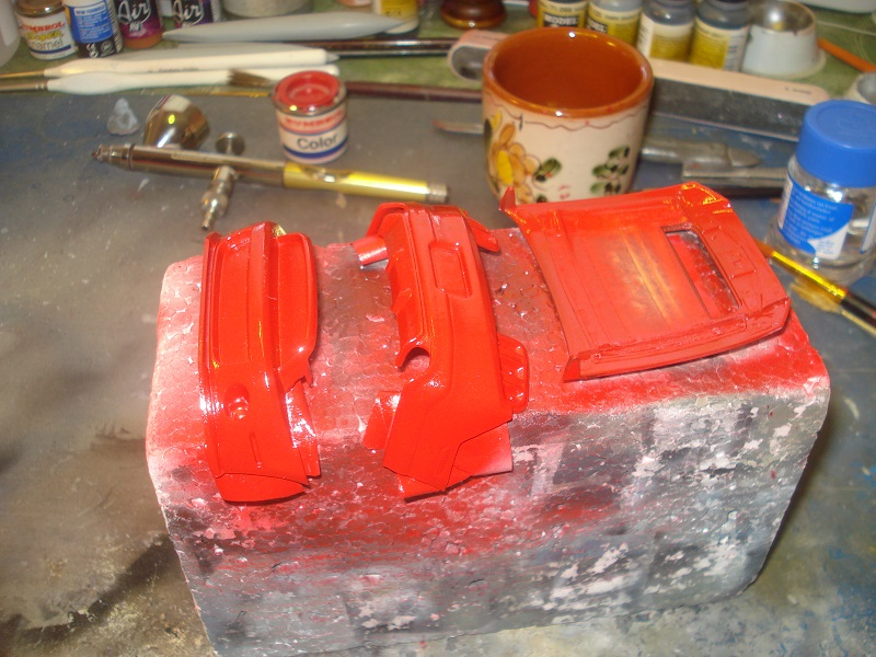 More red paint