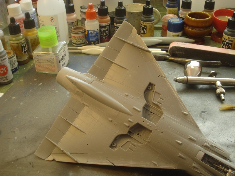 Control surfaces added