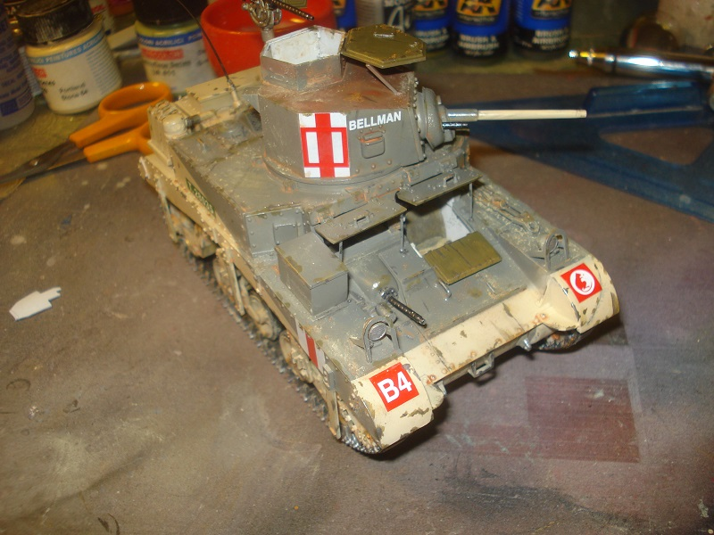 Chipping added, kit finished